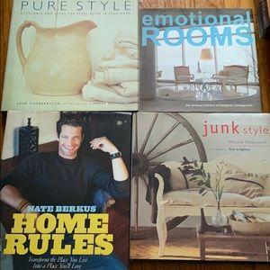 4 home design books